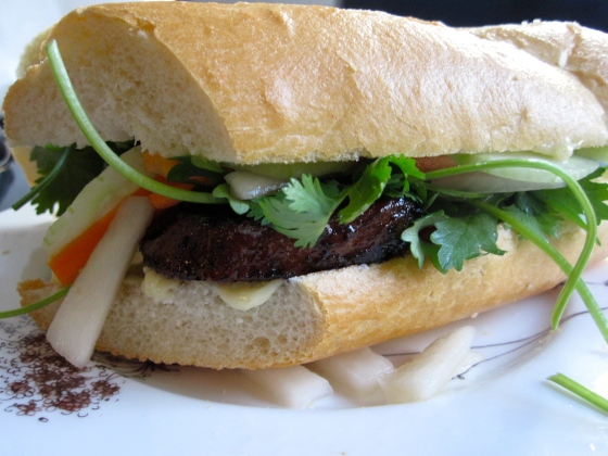 Bánh Mì with Lemongrass Pork