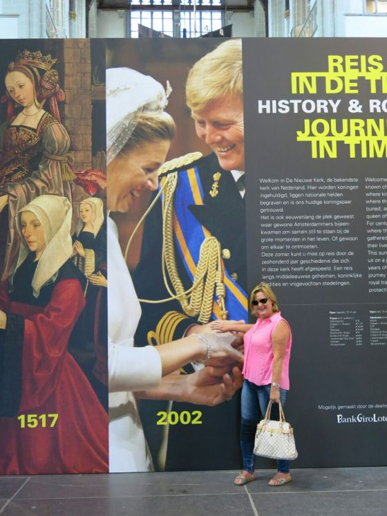 Els with Queen Maxima and King Willem Alexander