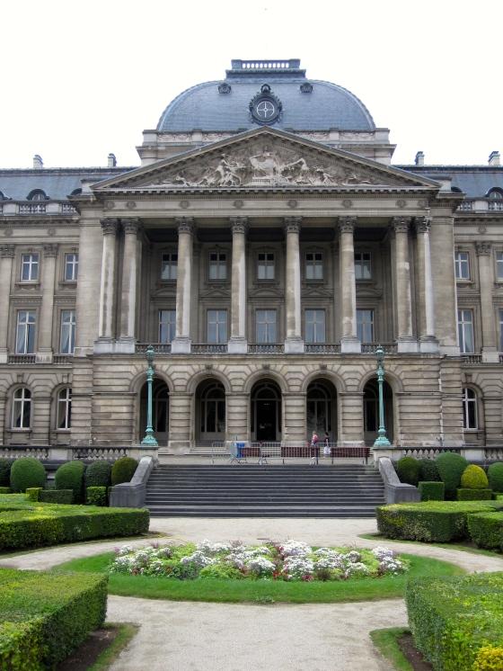 Closeup of the Royal Palace