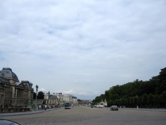 Royal Palace and Parc de Bruxelles
