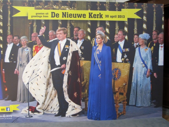 The King and Queen of the Netherlands!
