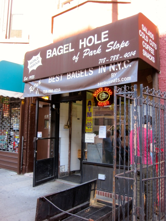 Bagel Hole for bagels with cream cheese and lox