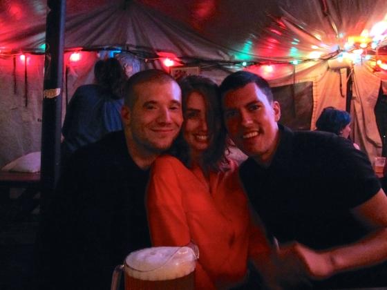 Matt, Danny and me