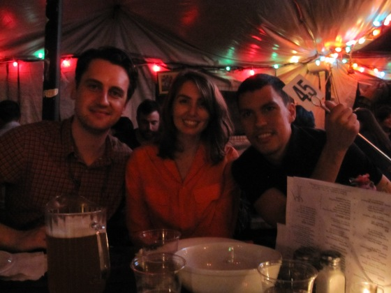 Koen, Danny, and me