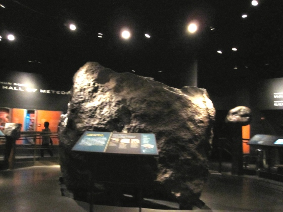 Ahnighito, the largest metorite on display in any museum in the world