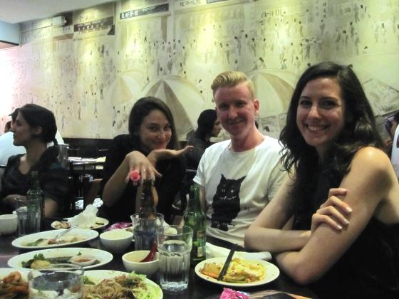 Frances, Natalie, Devin, and Skyler