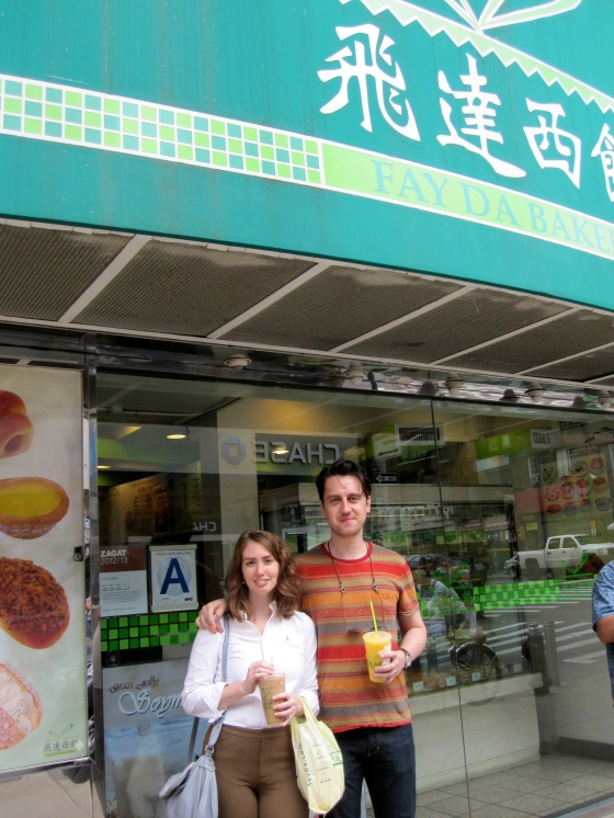 We started out by grabbing breakfast at Fay Da, a Chinese bakery in Chinatown