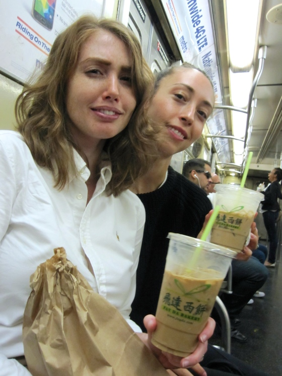 Koen took this lovely photo on the subway on the way to Battery Park