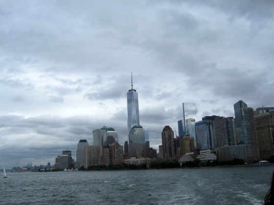 View of the Financial District from the ferry