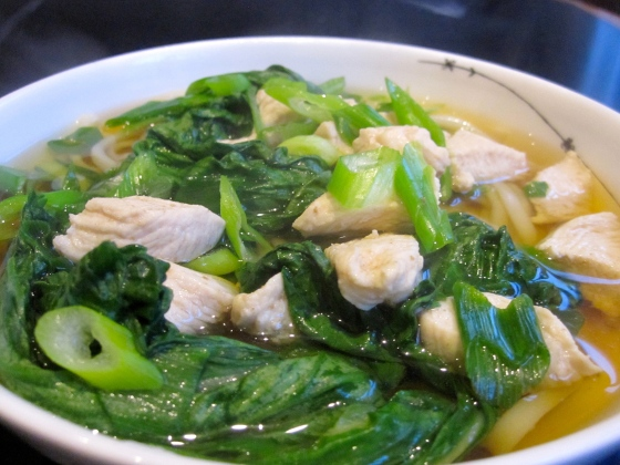 Japanese Chicken Udon Soup