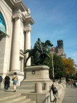 First visit to the American Museum of Natural History, September 2013
