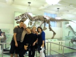 Visiting AMNH during Christina's bachelorette party
