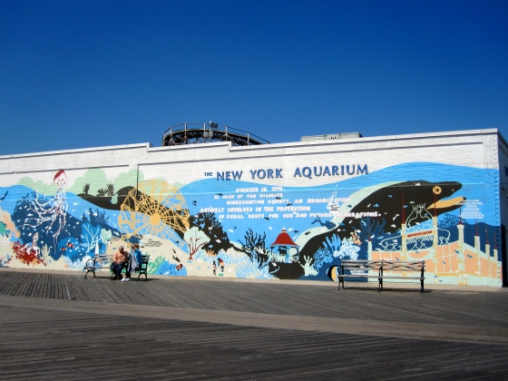 New York Aquarium Mural