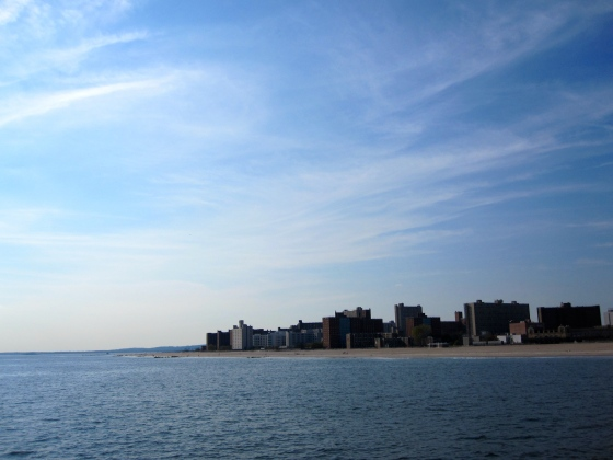 View of the other side of Coney Island