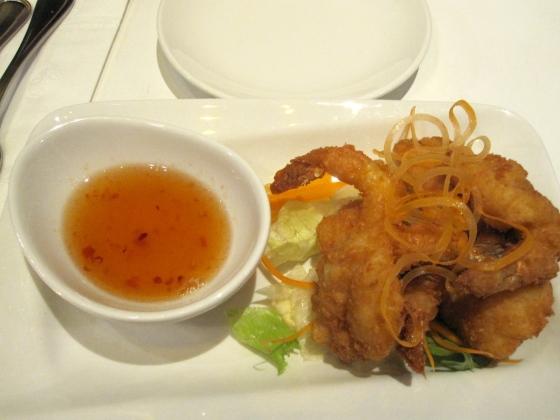 Koen's coconut crusted shrimp