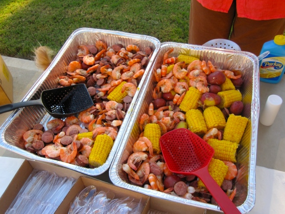 Mmm...low country boil!
