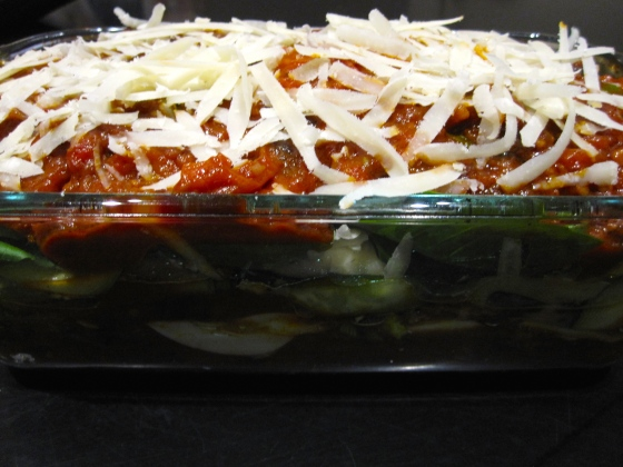 Sicilian Parmigiana Di Zucchine