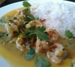 Thai Shrimp Green Curry
