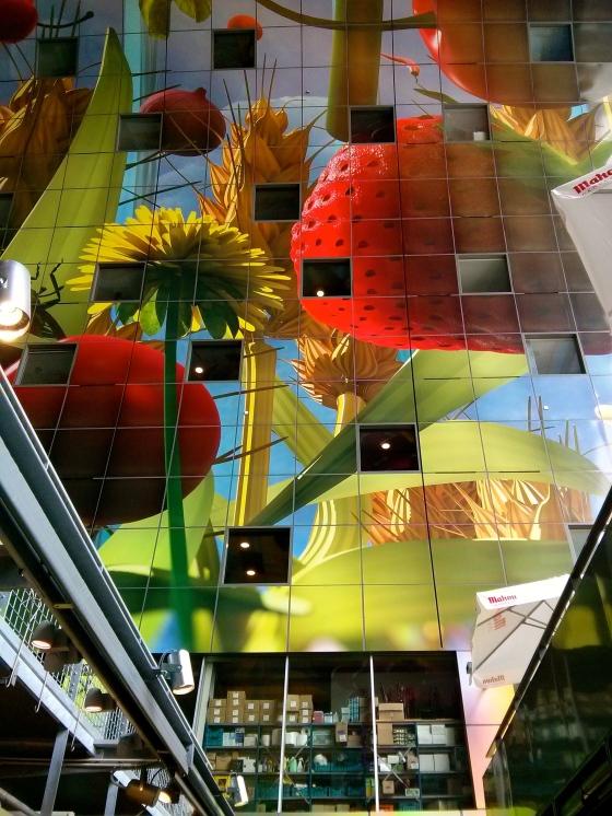 Inside the Markthal