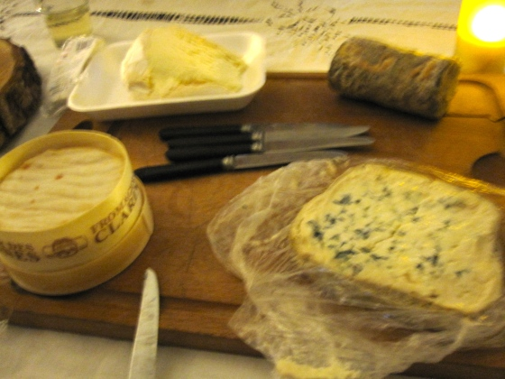 Nothing better than cheese for dessert, featuring specialites from the region