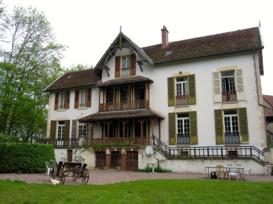 Our beautiful house for the weekend in Burgundy, France