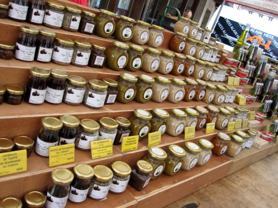 Jams, jellies, mustards, truffles,..