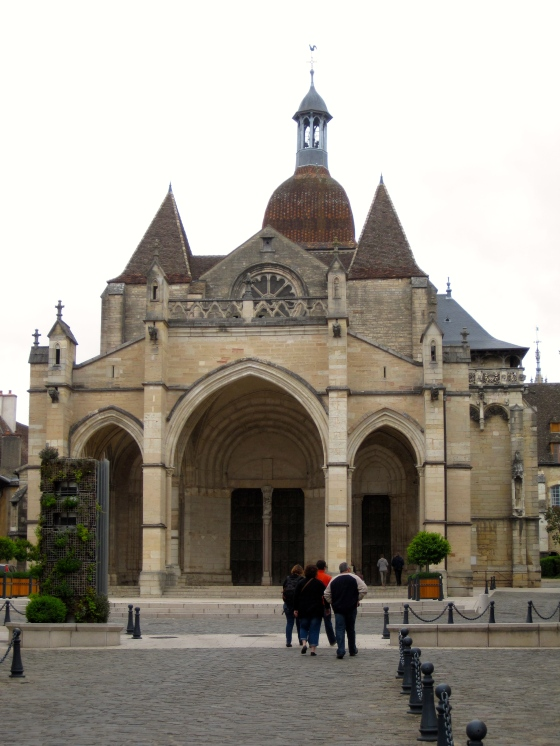 La basilique Notre Dame de Beaune