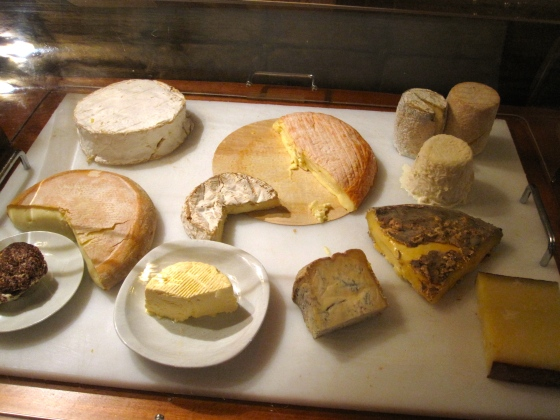 Delicious regional cheeses!