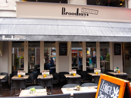 Lunch at Broodhuys Broertje