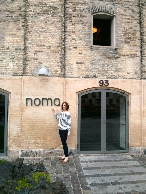 Noma is also on Christianshavn and I couldn't resist a photo at the world's best restaurant!