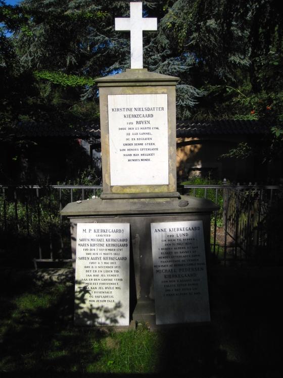 Søren Kierkegaard's grave