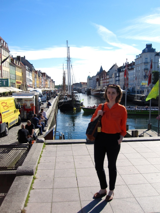 Me in front of the Nyhavn
