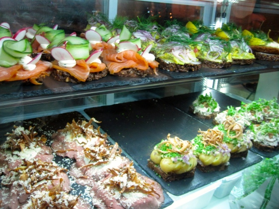 Too many smørrebrød options to choose from!