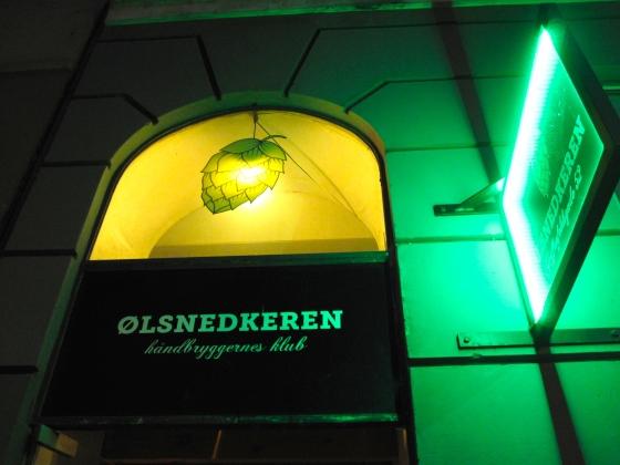Ølsnedkeren, a Danish microbrewery