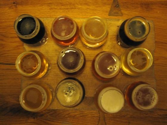 12 Danish beers