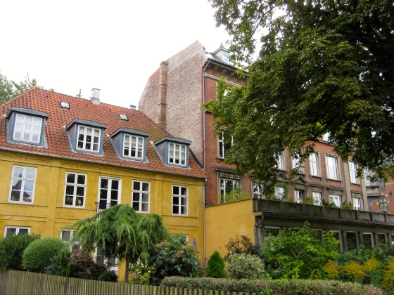 Walking through chic Frederiksberg