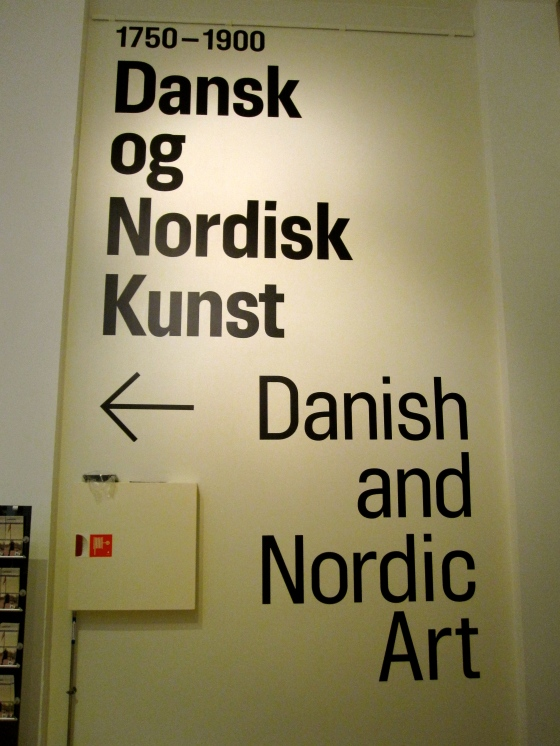 And so we began...Danish and Nordic Art 1750 - 1900