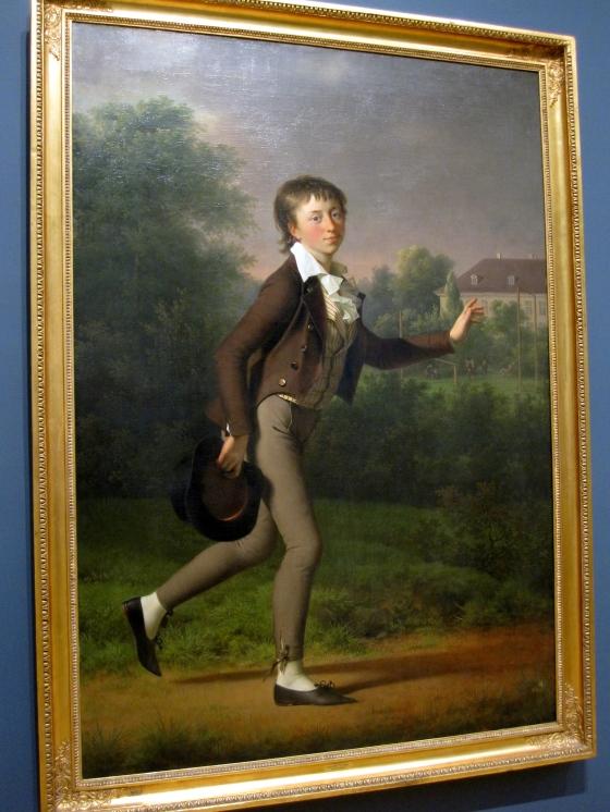 """""""A Running Boy"""" Jens Juel 1802"""