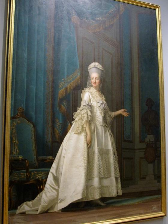 """The Queen Dowager"" Vigilius Eriksen 1776"