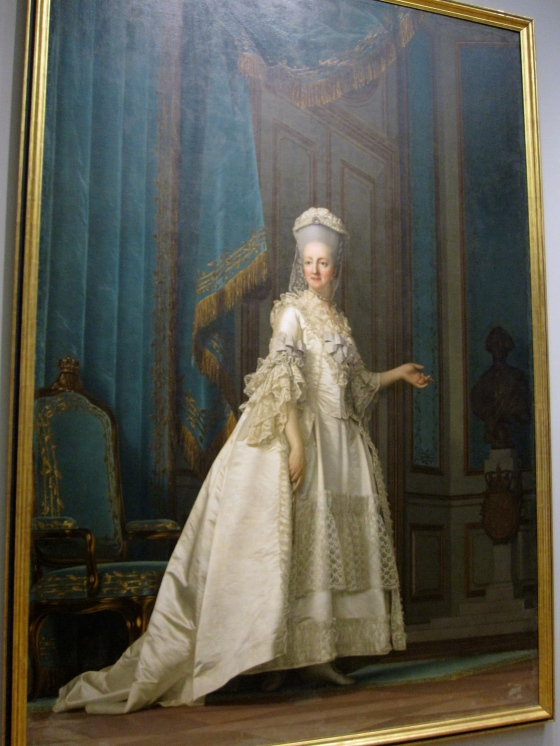 """The Queen Dowager"" Vigilius Eriksen 1776"