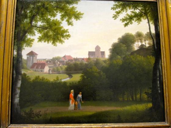 """""""View Towards Lyngby"""" C.W. Eckersberg 1803/10"""