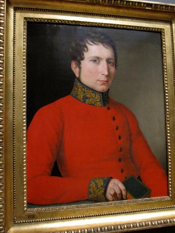 """Portrait of a Nobleman"" C.W. Eckersberg 1820"