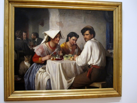"""In a Roman Osteria"" Carl Bloch 1866"