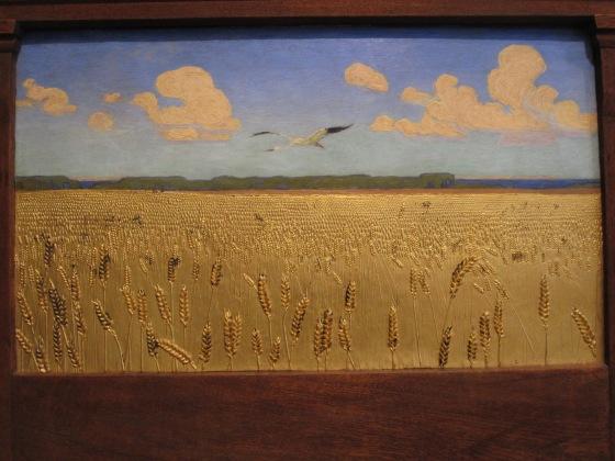 """""""Danish Landscape"""" Harald Slott-Møller 1891"""