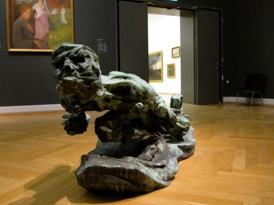 """""""The Shadow"""" Niels Hansen Jacobsen 1897-98"""