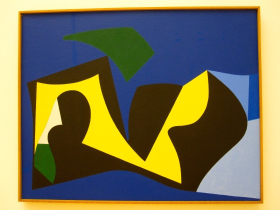 """Dynamic Space II"" Ib Geertsen 1950/1988"