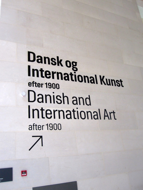 Moving on to Danish and International Art after 1900
