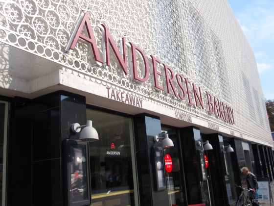 Andersen Bakery - time for more food!