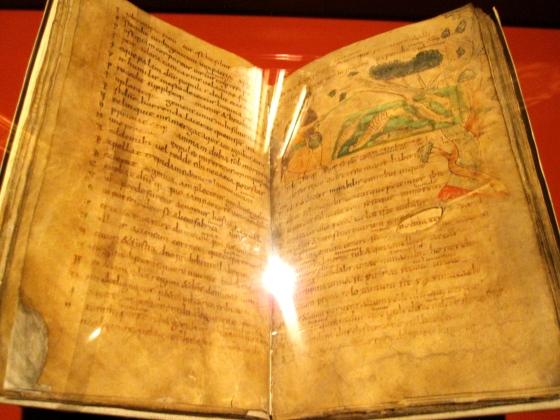 Beautiful manuscript from the 9th century