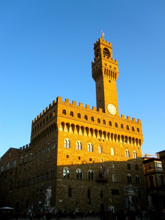 Piazza della Signoria: Palazzo Vecchio (town hall)